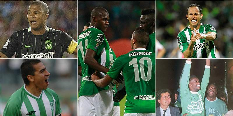 Datos históricos de Nacional y Copa Libertadores