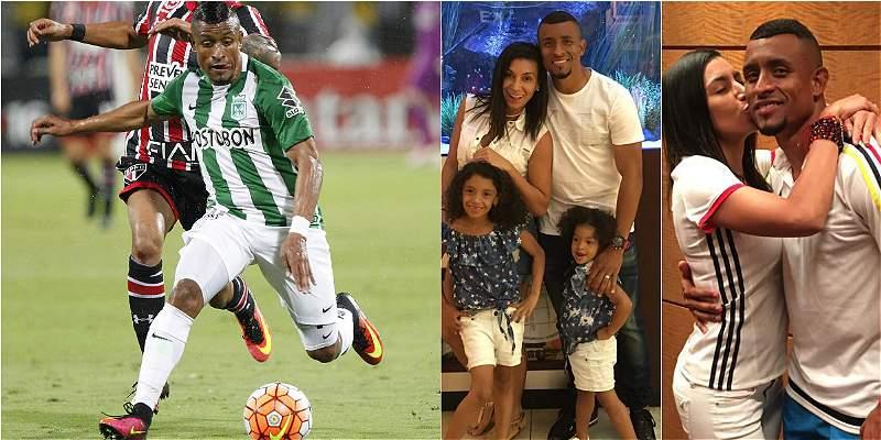 Farid Díaz Atlético Nacional Familia