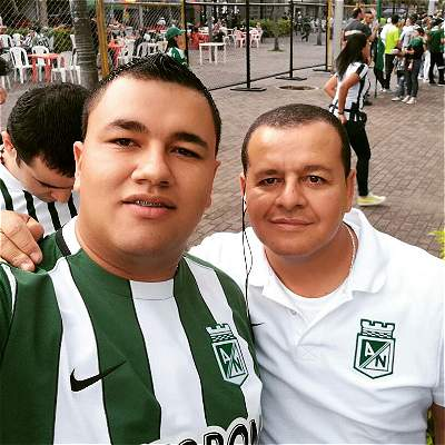 Hincha Atlético Nacional