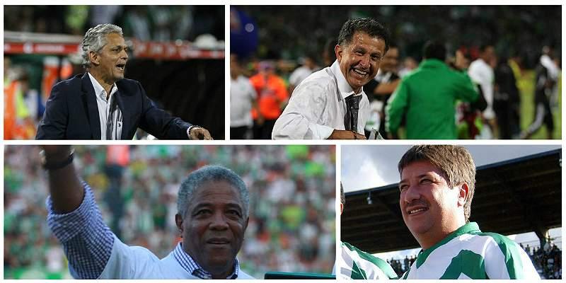 Desde la raya: estos son los técnicos campeones con Atlético Nacional