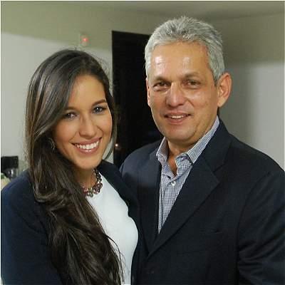 Alejandra Rueda hija de Reinaldo