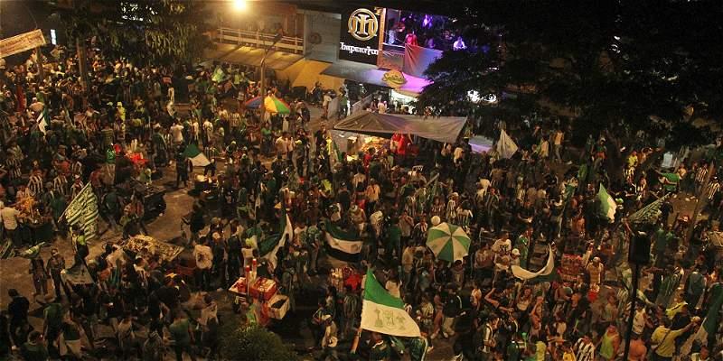 Un muerto en Antioquia dejó la celebración del título de Nacional