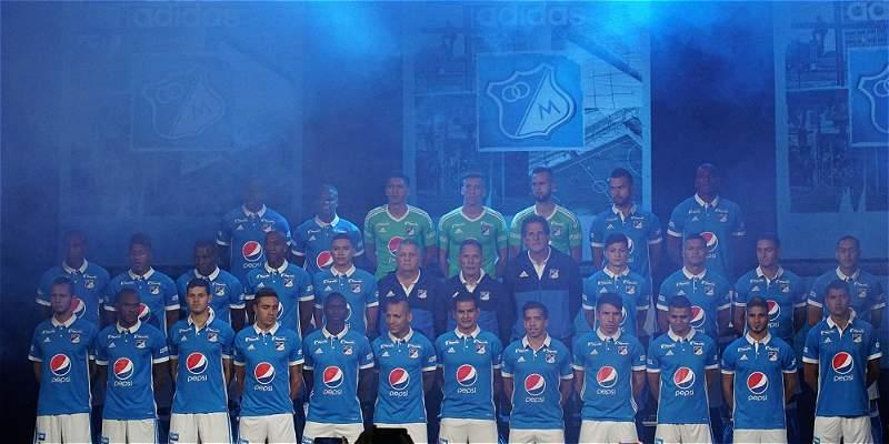 Solo diez jugadores de Millonarios tienen experiencia en Libertadores