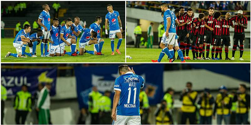En imágenes: la despedida de Millonarios de la Copa Libertadores-2017