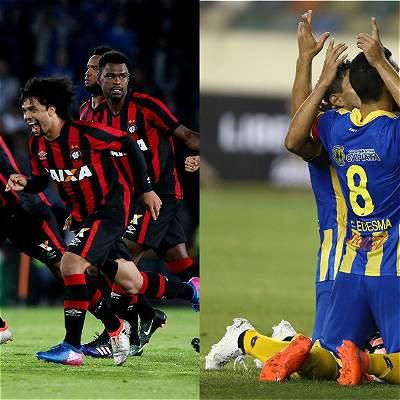 El sorprendente Capiatá visita a Paranaense, por Copa Libertadores