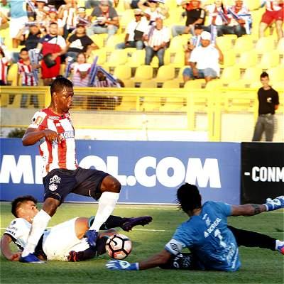 En fotos: triunfo de Junior contra Tucumán en la ida de Libertadores