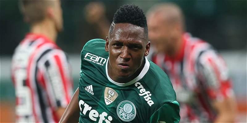 Yerry Mina deberá esperar para su debut en Libertadores con Palmeiras