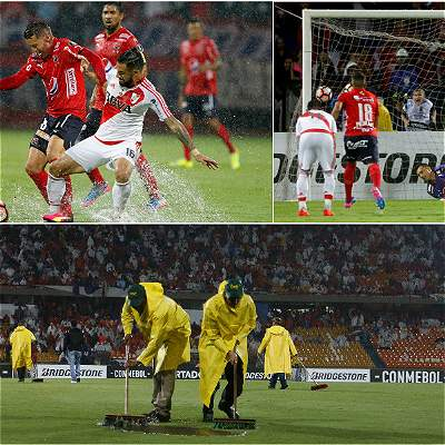 En fotos: el debut para olvidar del DIM contra River, en Libertadores