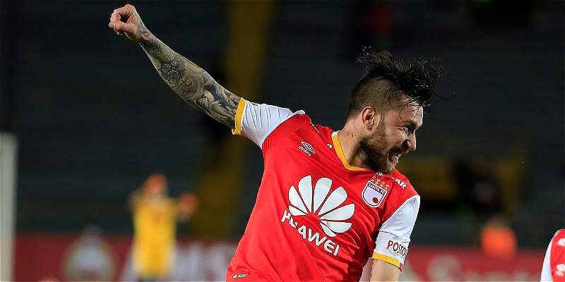 Jonatan Gómez Santa Fe Sporting Cristal Copa Libertadores
