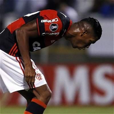 Orlando Berrío sancionado Copa Libertadores Flamengo