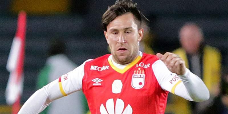 Jonatan Gómez, el hombre gol de Santa Fe que será clave contra Santos