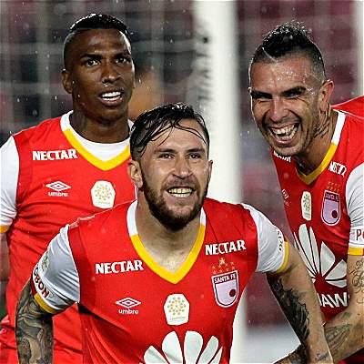 Santa Fe quiere ponerse líder en la Copa Libertadores: recibe a Santos