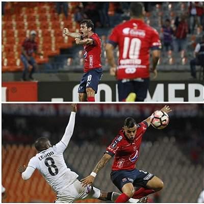 Medellín vs Melgar collage