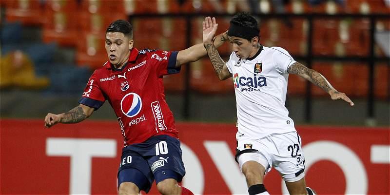Medellín, por otra victoria a Melgar en su visita por Libertadores