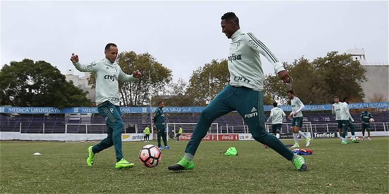 Palmeiras, con Mina y Borja, promete otro partidazo: visita a Peñarol