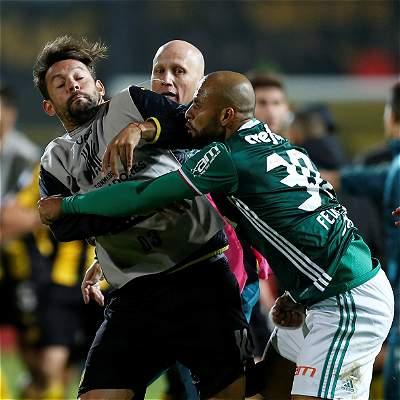 Repercusiones pelea Peñarol vs. Palmeiras