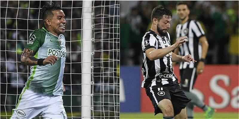 Alineaciones Nacional-Botafogo