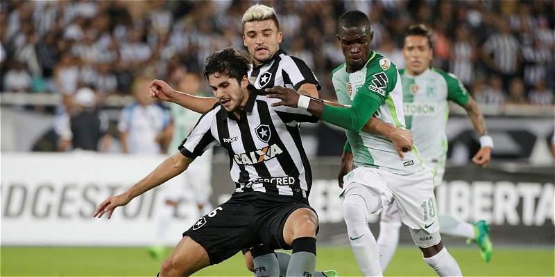 Siga aquí el minuto a minuto del partido Botafogo - Nacional en Copa