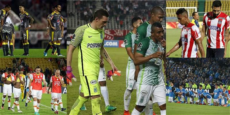 Cuando más cupos tuvo Colombia, peor fue su fracaso en la Libertadores