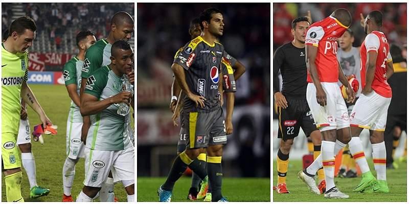 Lo que dejan de recibir Nacional, DIM y Santa Fe por salida de Copa