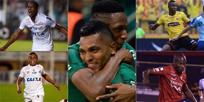 Octavos de final Copa Libertadores 2017