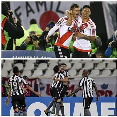Así quedaron los cruces de los cuartos de final de la Libertadores