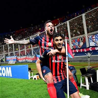 Contundente victoria de San Lorenzo 2-0 sobre Lanús por Libertadores
