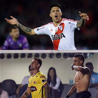 Argentinos, ecuatorianos y brasileños jugarán 'semis' de Libertadores