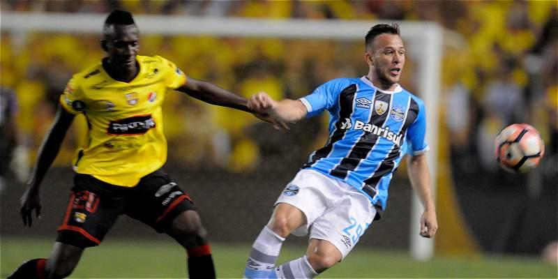 Gremio recibe a a Barcelona de Ecuador