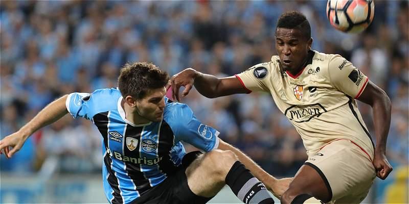 Gremio perdió 0-1 con Barcelona, pero jugará la final de Libertadores