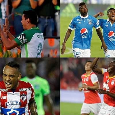 Colombianos en Libertadores