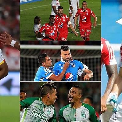 Nueve clubes colombianos en el Top 100 de ranking de Copa Libertadores