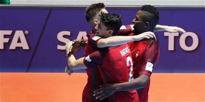 Portugal derrotó 4-0 a Costa Rica y avanzó a cuartos en Mundial Fútsal