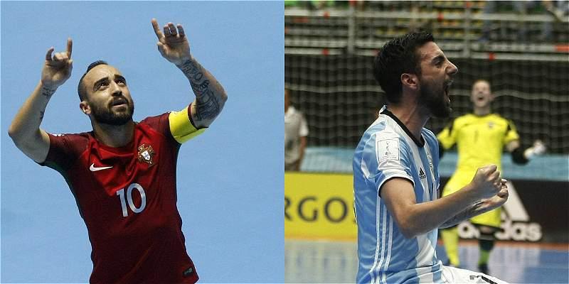Argentina y Portugal definen el otro cupo a la final del Fútsal-2016