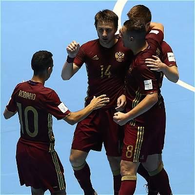 Rusia Fútsal final