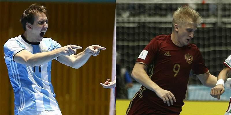 Argentina vs. Rusia: el Mundial de Fútsal tendrá campeón inédito