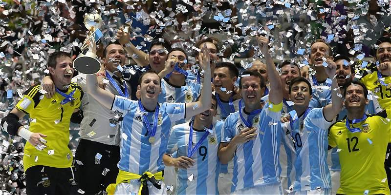 Argentina Fútsal campeón