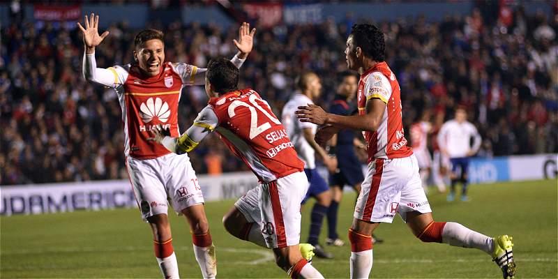 En un juego accidentado, Santa Fe le ganó 0-2 a Nacional en Copa