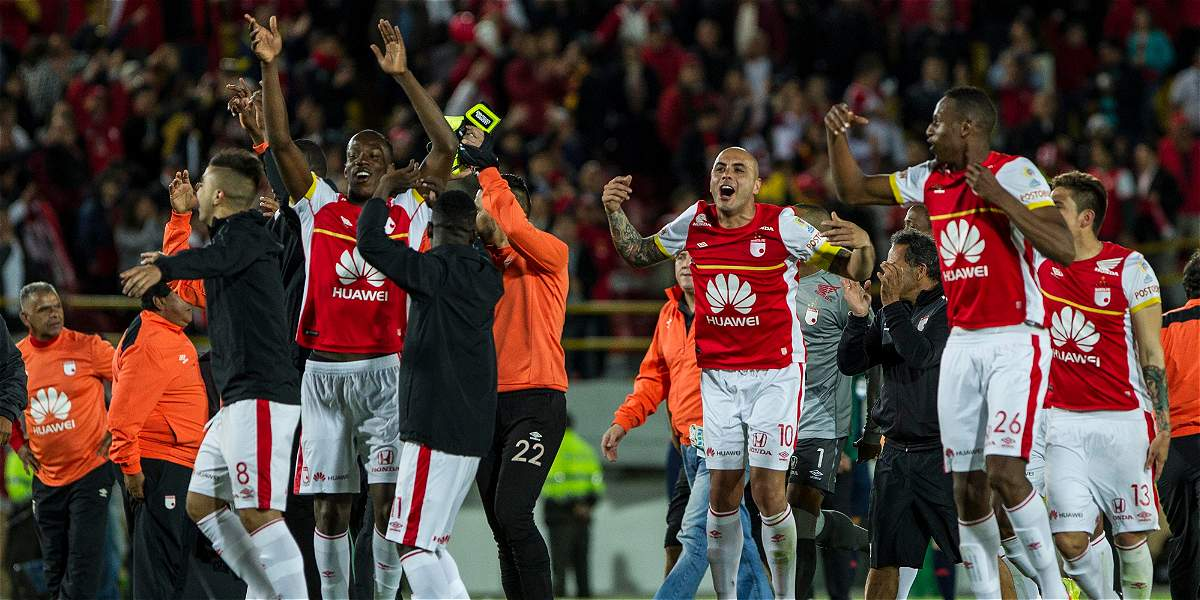 Santa Fe a la final de la Copa Suramericana y la tercera de Conmebol