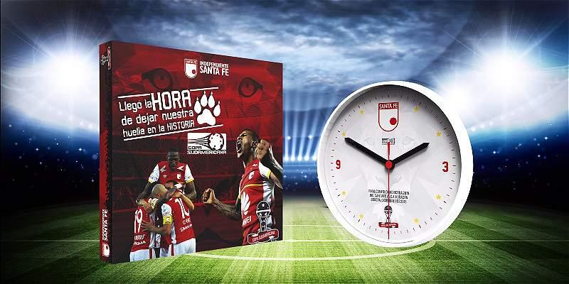 Santa Fe obsequiará 33 mil relojes conmemorativos en la final de Copa