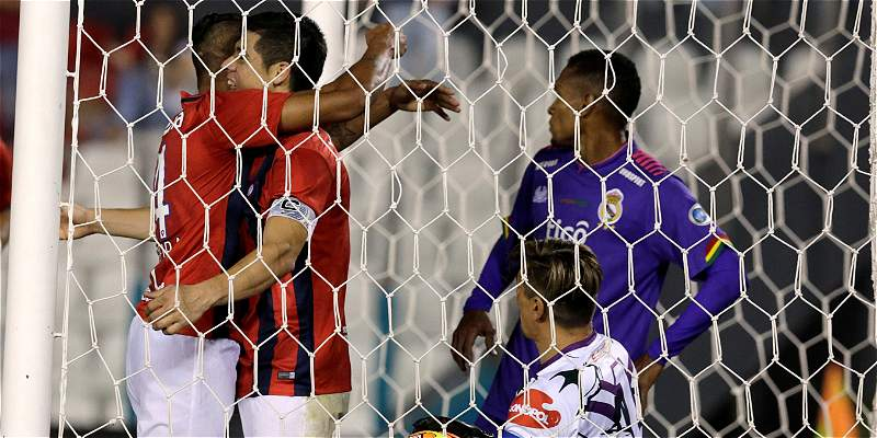Ojo, Santa Fe: Cerro Porteño goleó 6-0 a R. Potosí, en la Suramericana