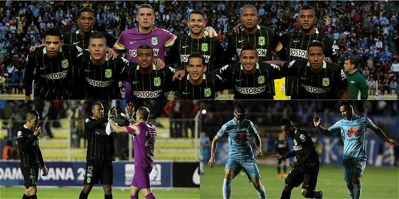 En fotos: el empate 1-1 de Nacional y Bolívar, en Copa Suramericana