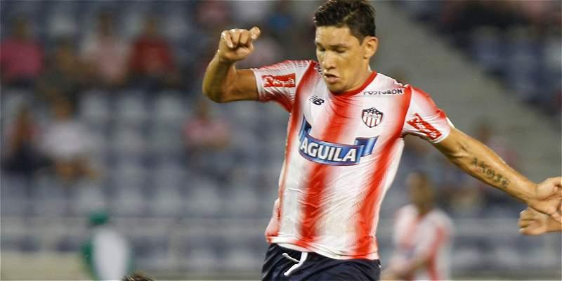 Junior ya se encuentra en Uruguay para enfrentar a Wanderers
