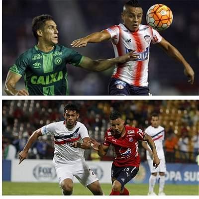 Nacional, Junior y Medellín