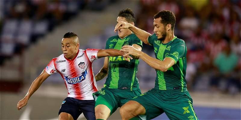 Junior, a mantener su ventaja contra Chapecoense en Copa Suramericana