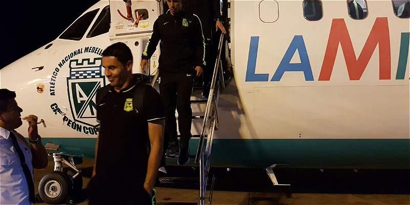 Avión Atlético Nacional Copa Sudamericana