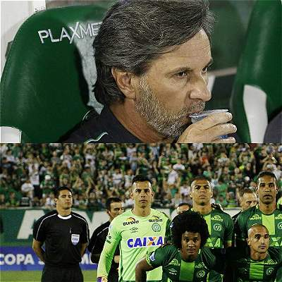 Jugadores de Chapecoense / Collage