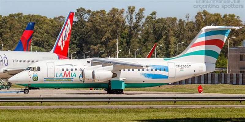 Avión Chapecoense Argentina