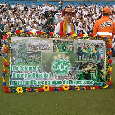 Homenaje Chapecoense