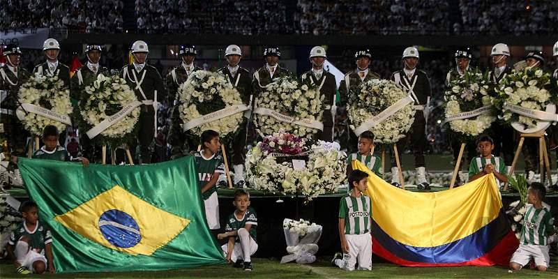 Confederación brasileña agradeció a Nacional el homenaje a Chapecoense